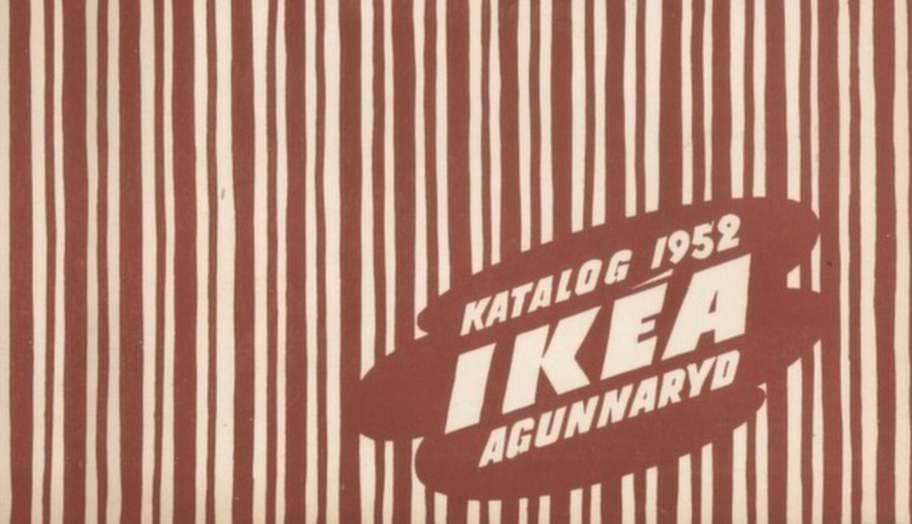 1952 års katalog så var så här randig.