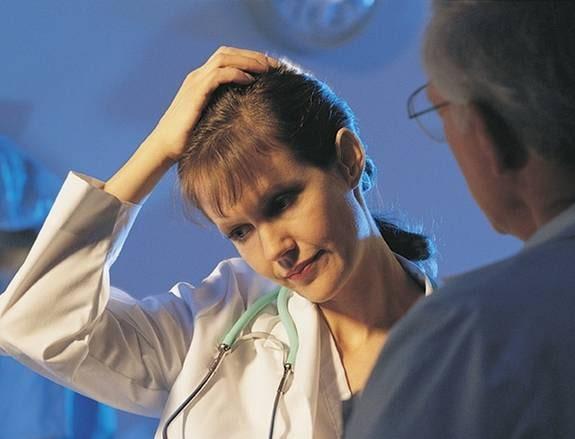 För mycket stress på jobbet påverkar den psykiska hälsan - och sexlivet - för sjuksköterskor. Fotograf