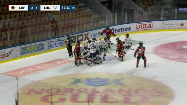 Höjdpunkter: Luleå vann – trots Klasens matchstraff