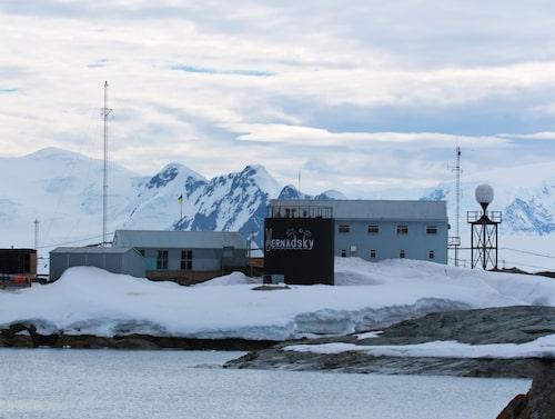 Baren på Vernadsky Research Base är världens sydligaste bar.