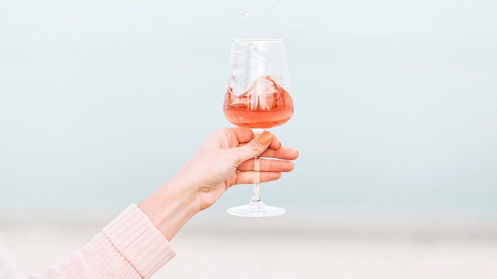 Syns det på färgen om rosévinet är sött?