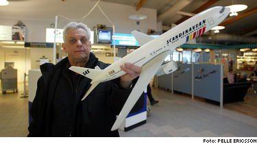 """Eskil Hedberg är pälsdjursallergiker. Det betyder krångel när han ska flyga. """"De vet inte hur de ska göra och det har hänt att jag tvingats lämna kön för att invänta extrapersonal"""", säger han."""