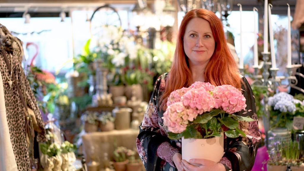 Välj frosttåliga blommor under våren, tipsar floristen Annamaria Ternow.