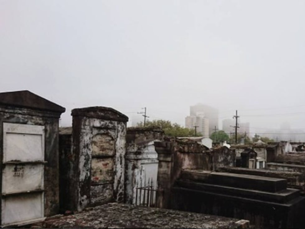 St Louis Cemetary No 1 i New Orleans.