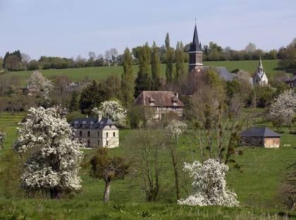 Vackra Normandie.