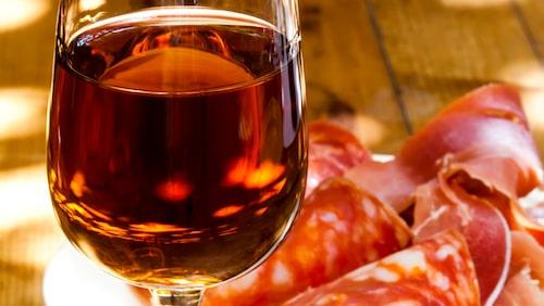Smakrika staden Jerez är full med barer.