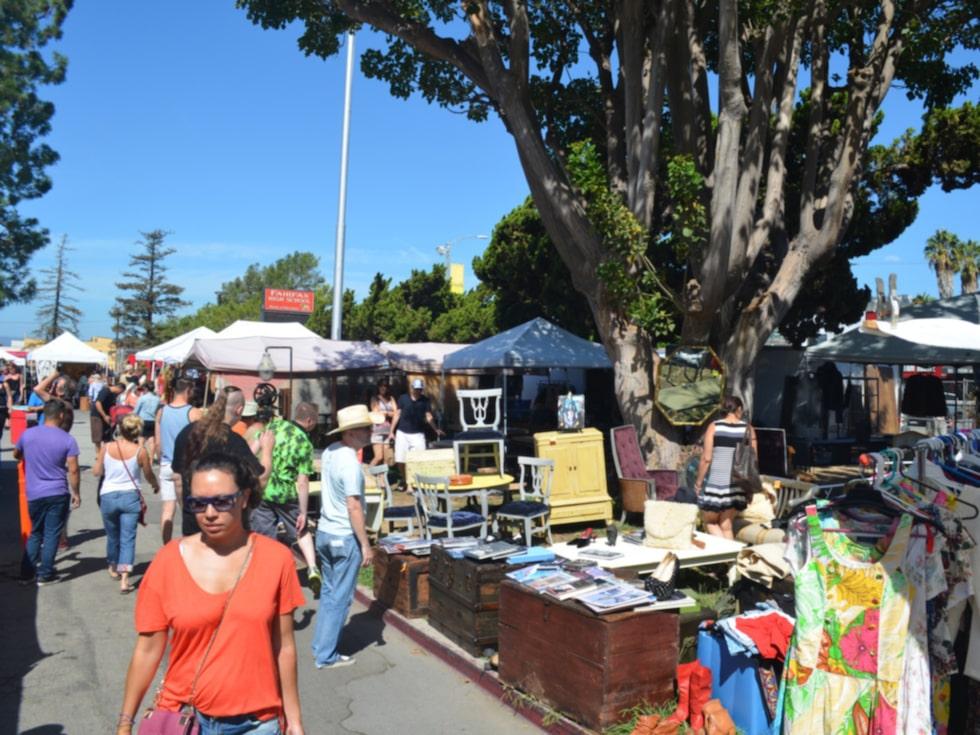 På marknaden i Melrose kan du fynda allt möjligt.