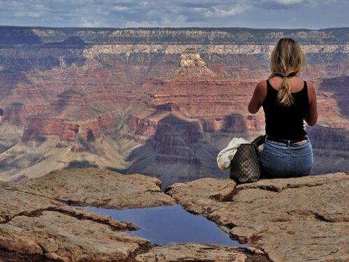 Vid Grand Canyon hittar du hisnande vyer oavsett var du befinner dig.