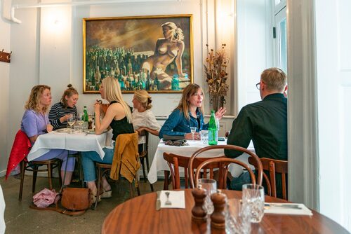 Klassiska Café Wilder.