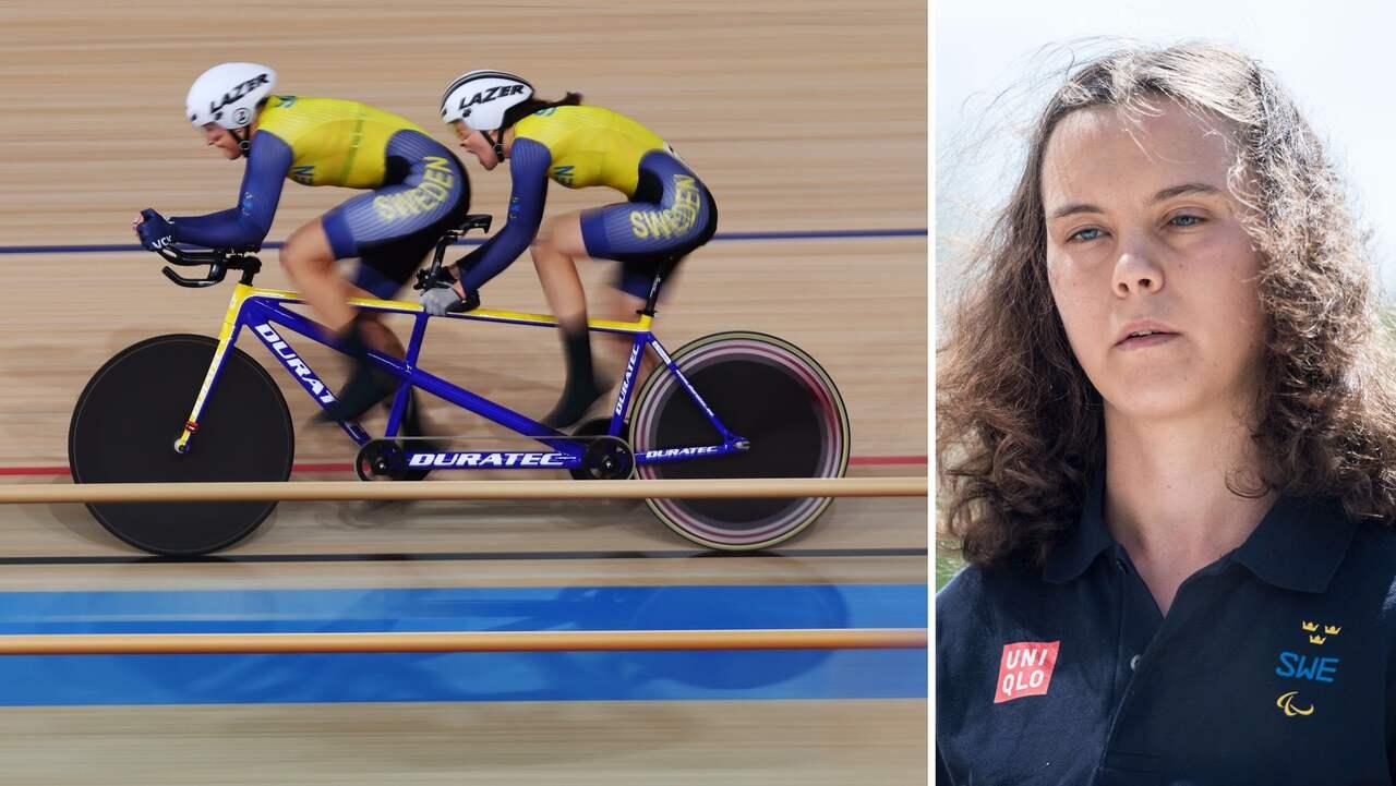 Ingen medalj för Louise Jannering