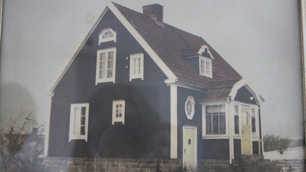 Huset är byggt 1929 och hade i princip stått öde i över 30 år när Åse och Urban köpte det.
