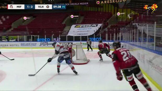 Highlights: Växjö gjorde tre mål på tre minuter