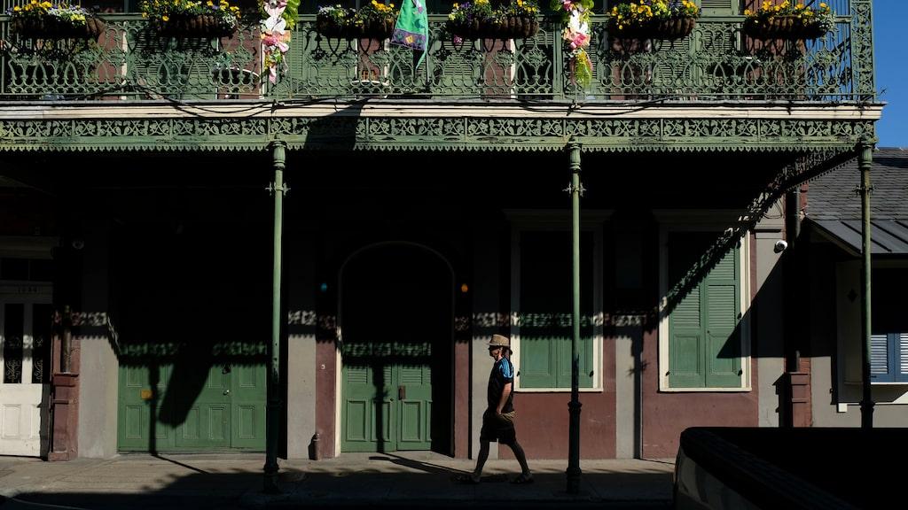 Smidesjärnsbalkongerna i French Quarter är ofta riktiga konstverk i sig.