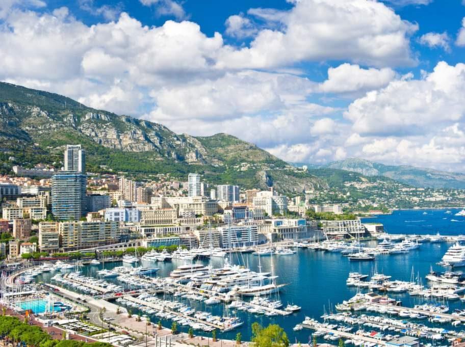 Men i Monaco är det dyrt.