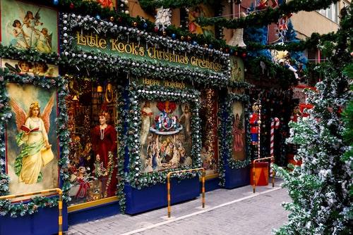 På Little Kook är det julafton året runt.