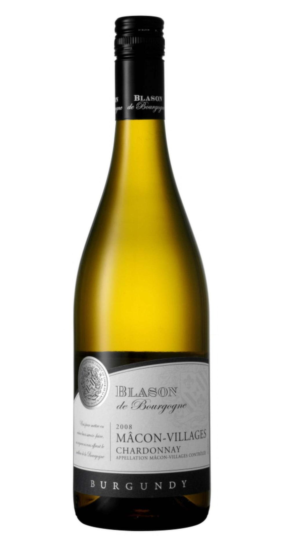 VittBlason de Bourgogne Mâcon-Villages 2013(2295) Mâconnais, 89 kronorFinstämt med drag av saftiga gula äpplen, lätt smörigt inslag och lite citrus i avslutningen. Serveras med fördel till laxburgare med skagenröra.