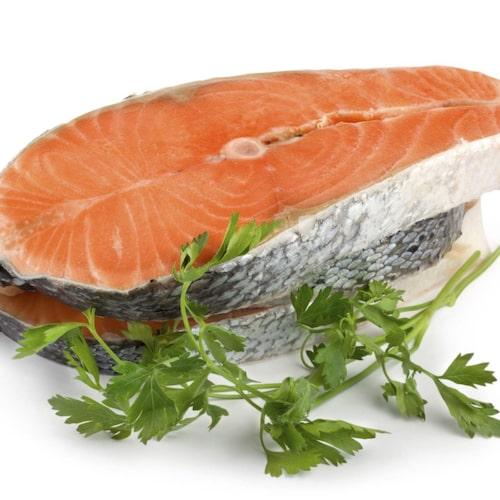 Fisk innehåller selen.