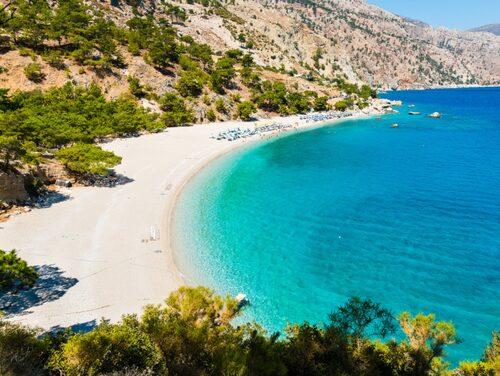 Grekland har en ö för alla – här Karpathos.