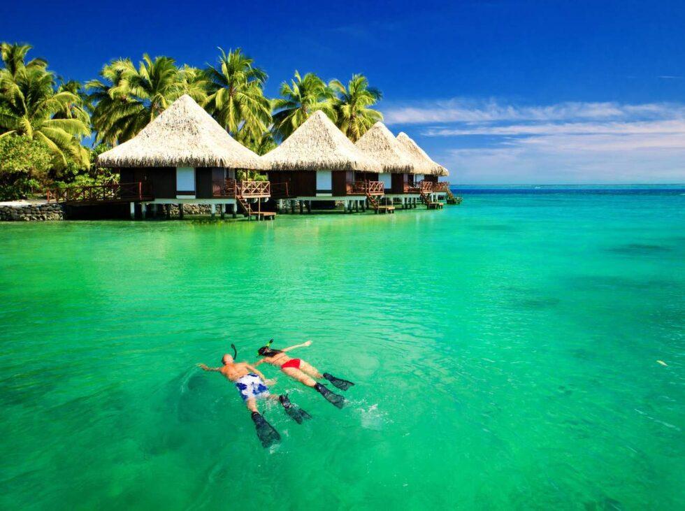 Maldiverna består av 26 atoller med 1 192 öar.
