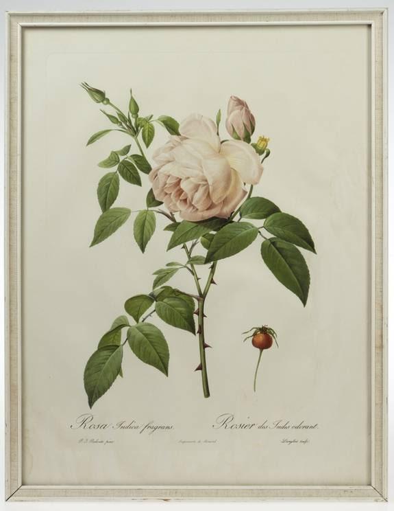 Rosenkonst. Rosentavla, 250 kronor, Evensens Antik.