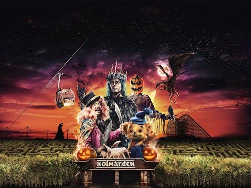 Halloween på Kolmården firar tio år.