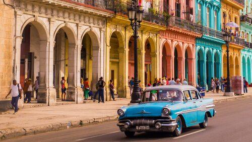 De flesta kommer till Havanna för den amerikanska 50-talsnostalgin.