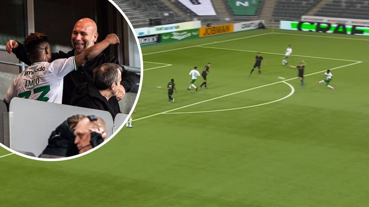 Hammarby – AIK: Amoo öppnade målskytten för Bajen
