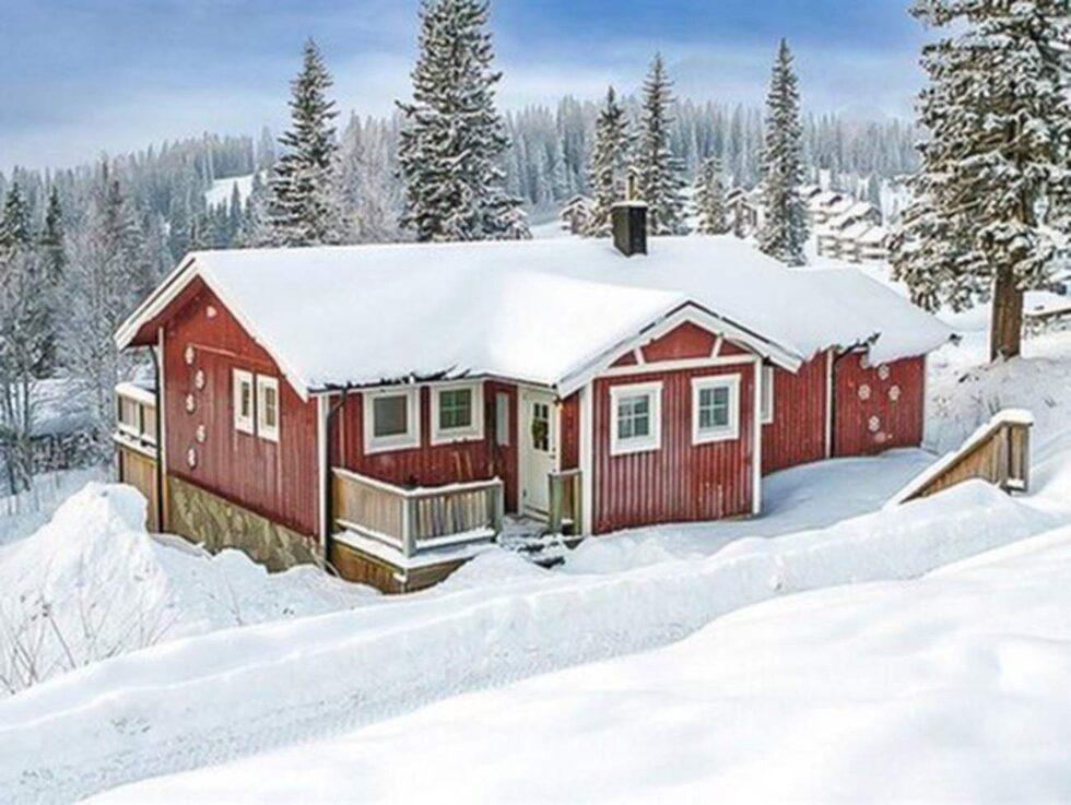 Björnen, Åre. Ski in-ski out! 87 kvadratmeter med utsikt mot Åreskutan med sex bäddar.