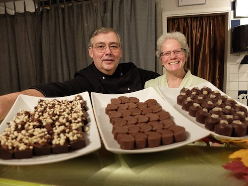 Choklad med mersmak hos Jaco och Corrie Neerings i Grythyttan.