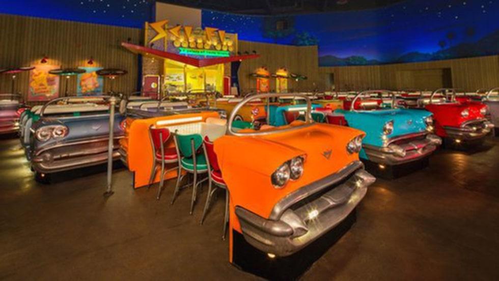 Sci-Fi Dine-In Theater.