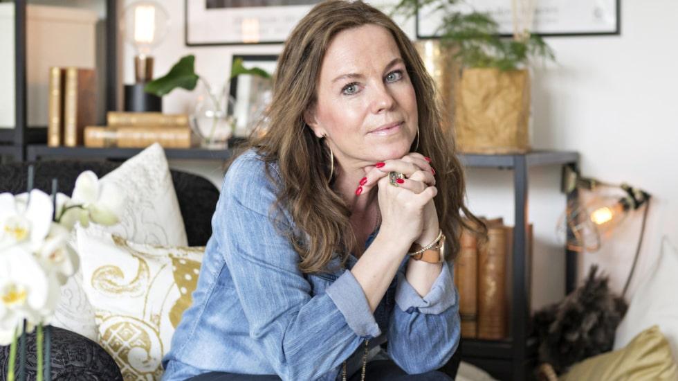 Bloggaren Eva Ottenvall trivs i sin 50-talslägenhet på 56 kvadratmeter.