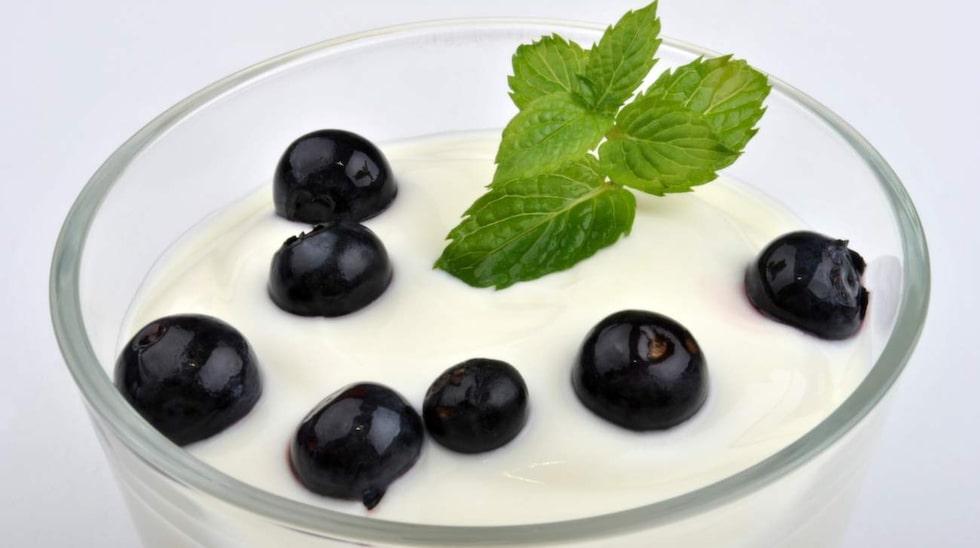 Yoghurt tycker magen om.