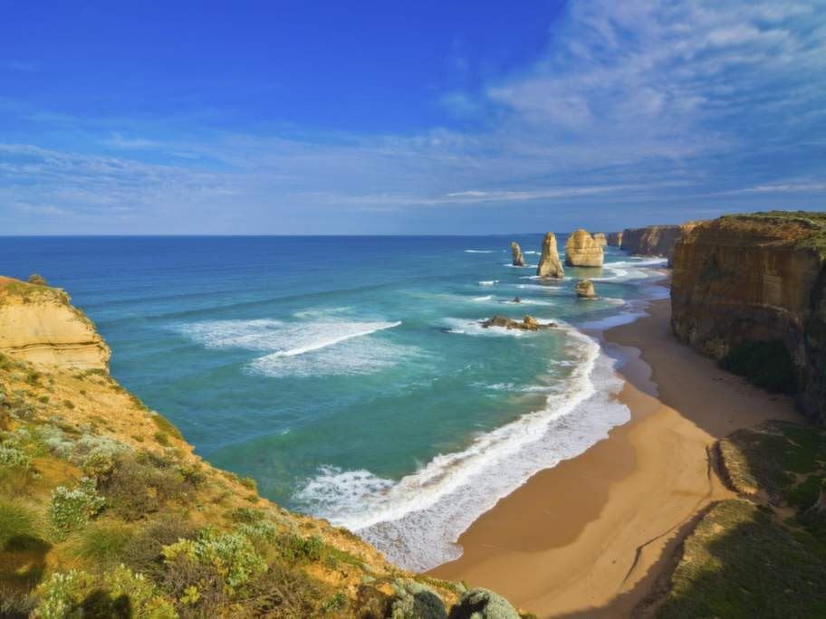 Great Ocean road, Australien.