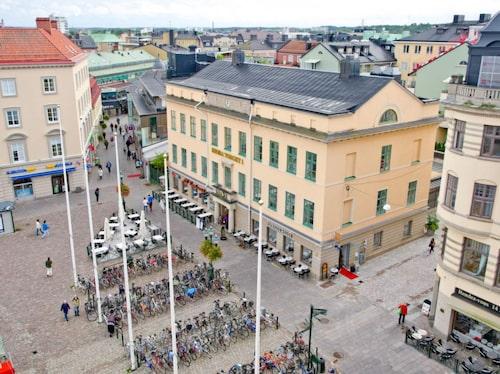 Gamla Rådhuset, numera Stångåstaden, på Stora Torget i Linköping