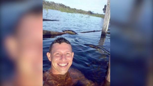 """Carlos tog """"världens farligaste selfie"""""""