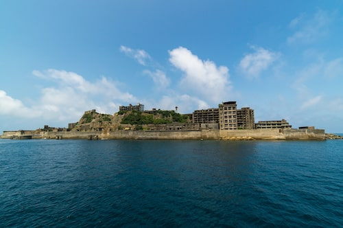 Sedan 2015 är hela ön Hashima ett världsarv.