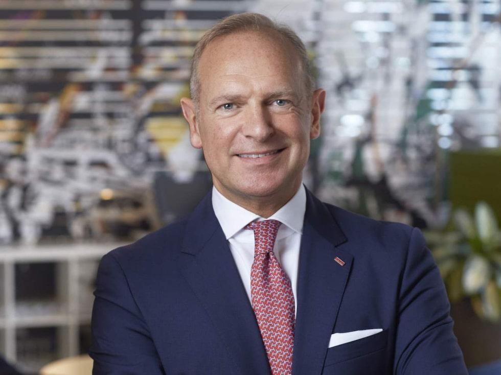 Frank Fiskers, vd och koncernchef på Scandic.