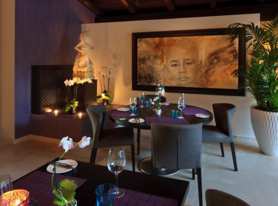 Ägaren har hämtat inspiration från lyxiga spa-anläggningar på Bali och i Thailand.