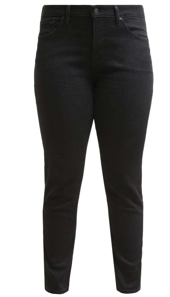 """Levi's Plus 311, Zalando, 899 krFormande jeans, designade för att runda av och förstärka, håller in magen, lyfter rumpan och förlänger benen. Finns både i plus-storlekar och """"vanliga"""" storlekar."""