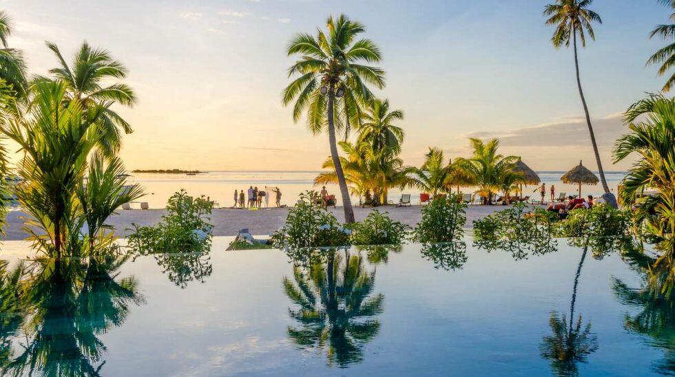 <p>Moorea i Franska Polynesien erbjuder bland annat fantastiskt bad.</p>