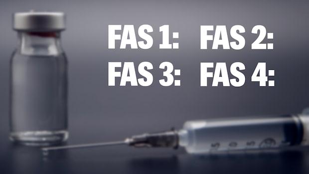 Svenska vaccinplanens fyra faser – den tillhör du