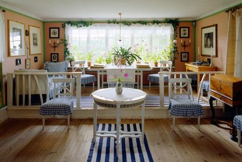 Carl Larsson-gården, ett av världens mest kända konstnärshem.