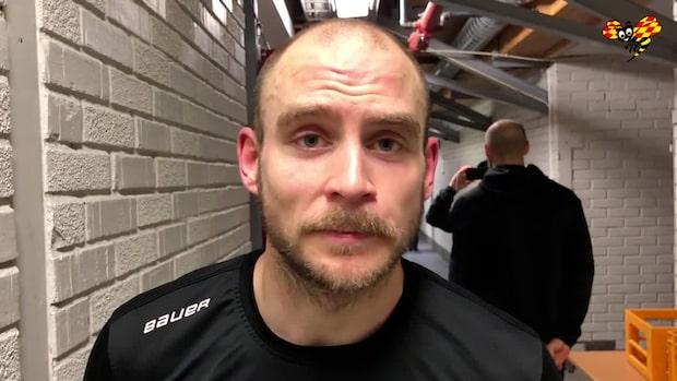 """Fredric Andersson efter segern: """"Har spelat bättre hockey"""""""