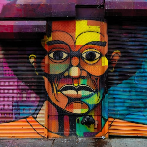 En enkel promenad kan ta dig från Harlem till Soho