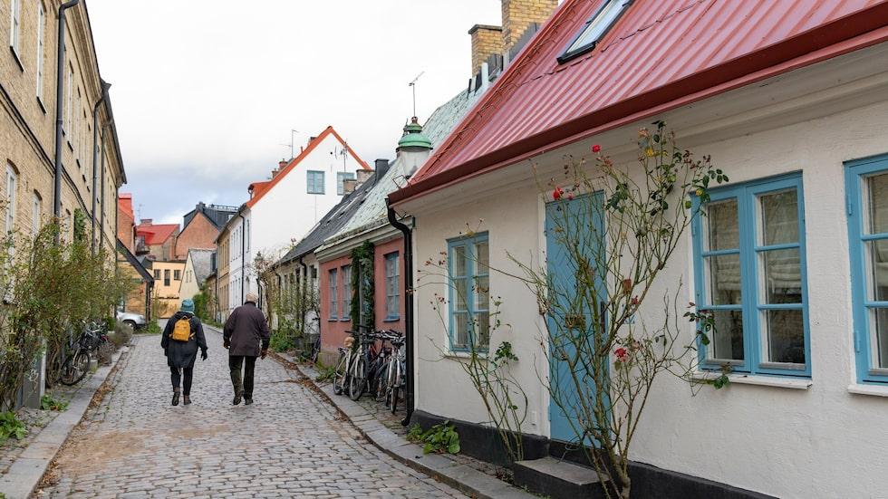 Hjortgatan, en del av området Kulturkvadranten, består av ett gatunät som härstammar från 900-talets slut.