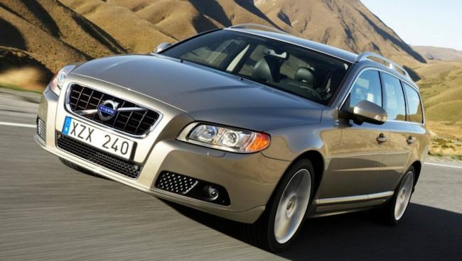 Volvo V70 - populär på begagnatmarknaden.