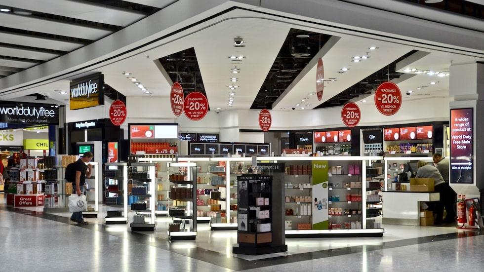 Heathrow, en av de flygplatserna med billigast utbud inom skönhet enligt en undersökning på 50 flygplatser i världen.