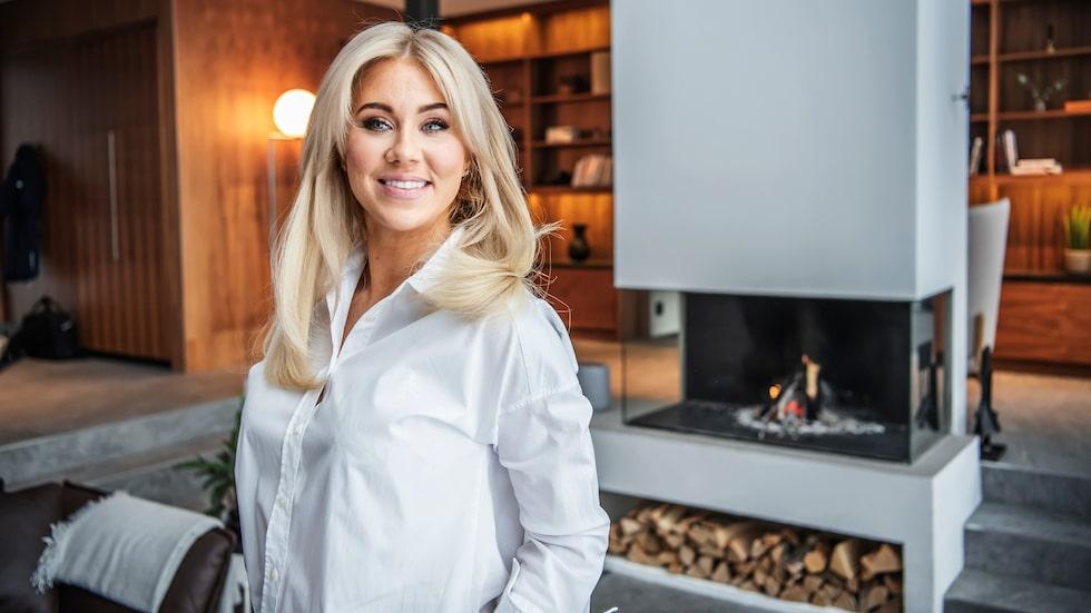 Isabella Löwengrip säljer nu huset på Lidingö.