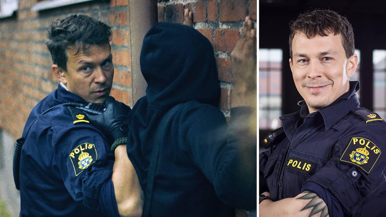 Tunna blå linjen: Skådespelarna misstogs för riktiga poliser
