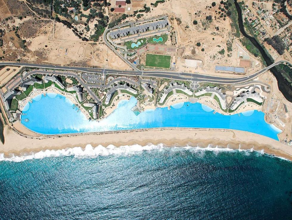 an Alfonso del Mar i Chile är i dag världens största pool.